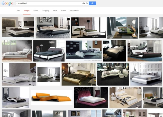curved bed google search