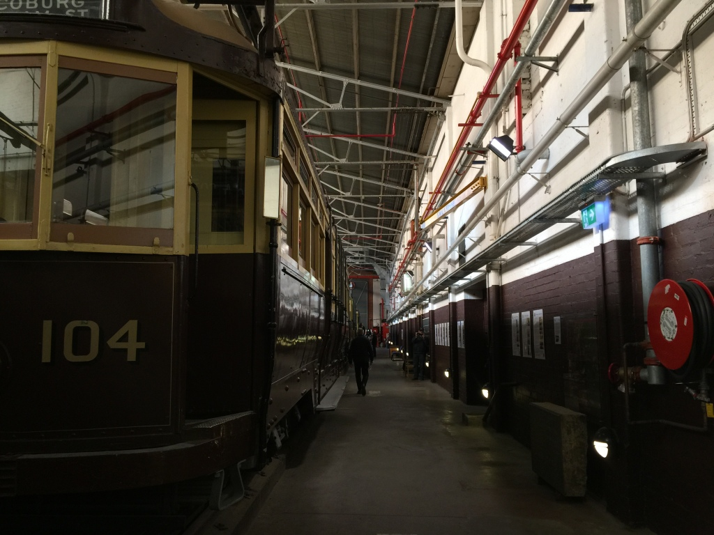 Tram Museum in Hawthorn, example of an older shed