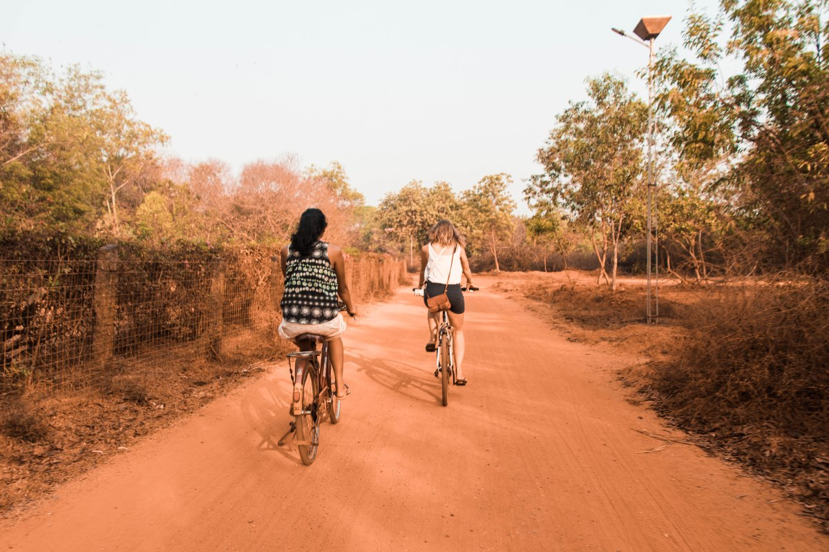 Sunrise Bike Ride - That Week in Auroville Part 2